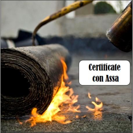 Seminario de sellado de techos incluye certificado