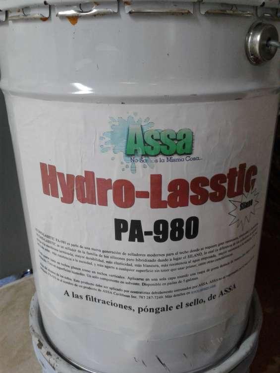 Sellador hydro-lasstic en sellado de techos